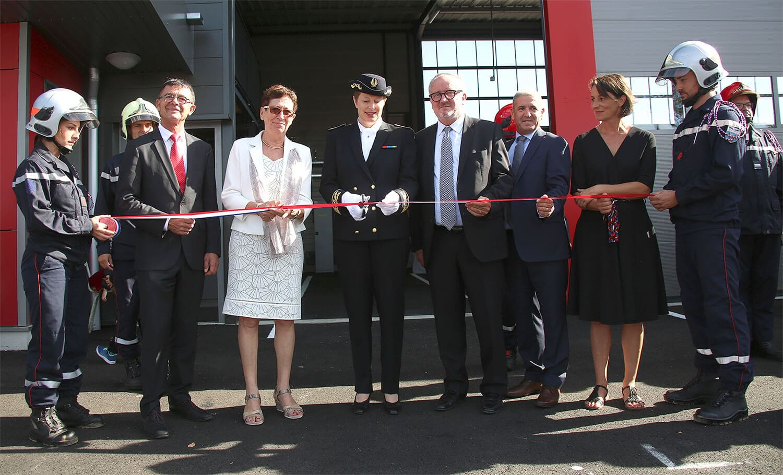 Boulogne inauguration Caserne, Pierre Médevielle